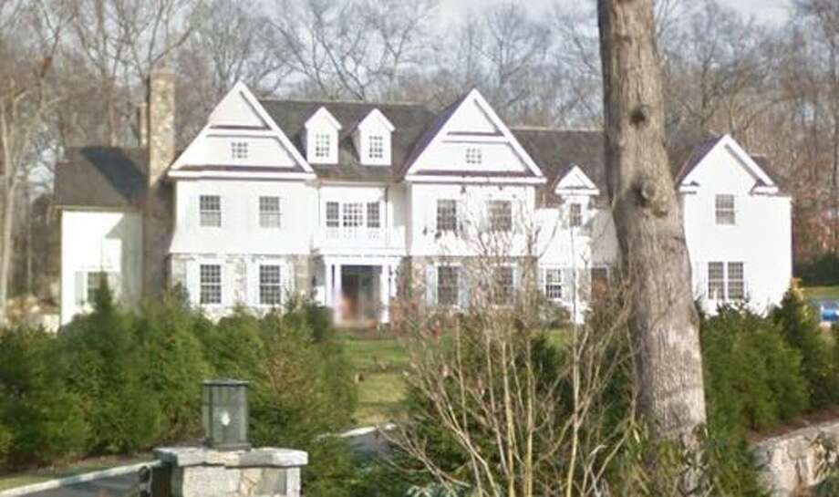 23 Llewellyn Drive in New Canaan sold for $2,735,000. Photo: Google Street View