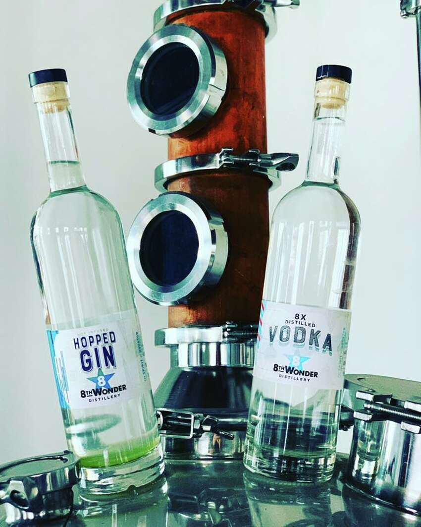 The owners of 8th Wonder Brewery have opened 8th Wonder Distillery in EaDo, serving two spirits produced on-site: an 8-times distilled vodka and a hopped gin.
