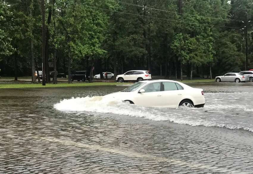 Avoid driving And especially avoid driving through flooded areas and standing water (CDC.gov) Kingwood, Texas Photo by: Bobbie Byrd