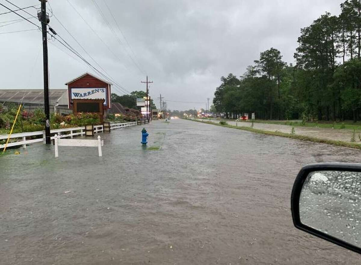 """Do not walk through moving water """"Six inches of moving water can sweep you off your feet. If you have to walk in water, walk where the water is not moving. Use a stick to check the firmness of the ground in front of you."""" (almanac.com) Kingwood, Texas Photo by: @Ruskels"""