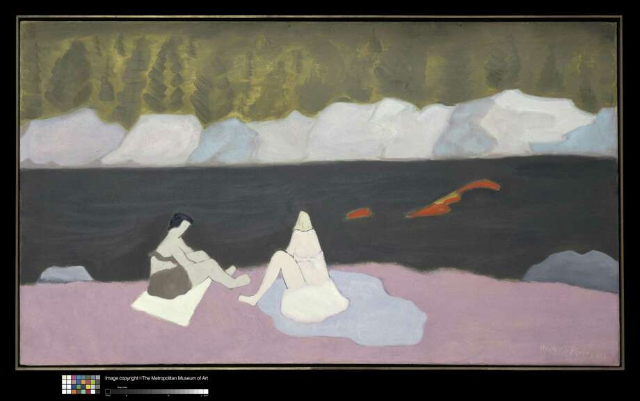 """Milton Avery's oil-on-canvas """"Swimmers and Sunbathers,"""" 1945. Photo: Art Resource, NY / Contributed Photo"""