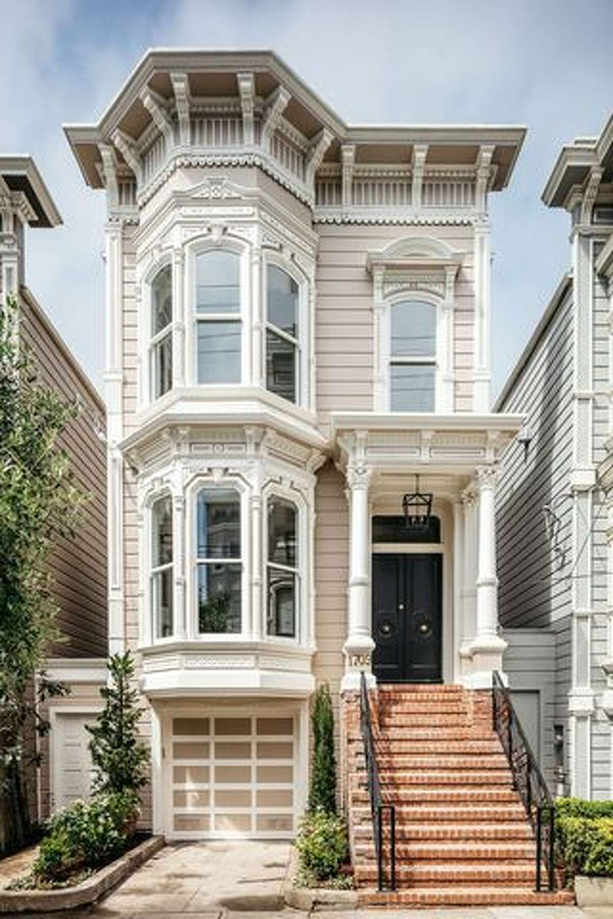 """The famous """"Full House"""" home in San Francisco is back on the market for $5,999,999-sans the """"Full House"""" interiors."""