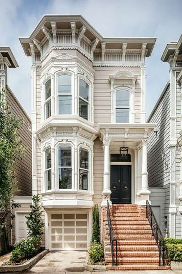 "The famous ""Full House"" home in San Francisco is back on the market for $5,999,999—sans the ""Full House"" interiors. Photo: Realtor.com"