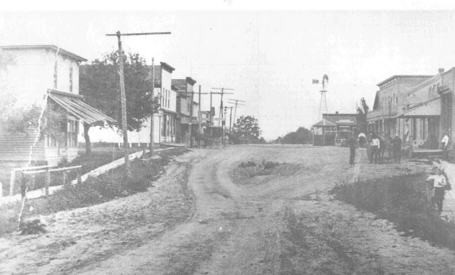 Main and Church streets circa 1907 Photo: Freeland Community Chamber Of Commerce