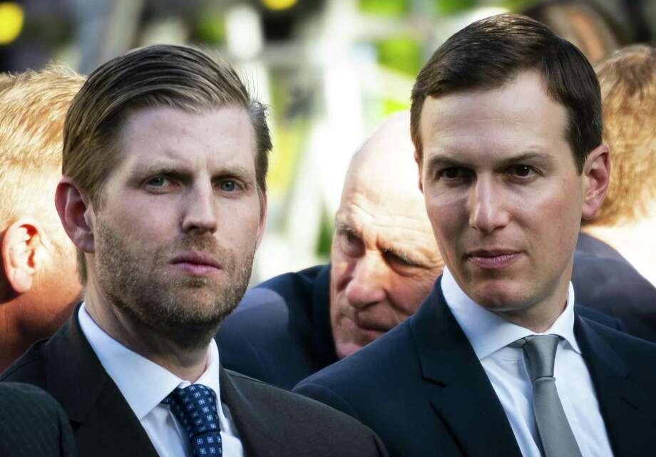Jared Kushner, izquierda, está impulsando una nueva reforma migratoria que busca seguridad en la frontera y tipo de inmigrantes que solicitan visa al país. Photo: Dour Mills /NYT / NYTNS