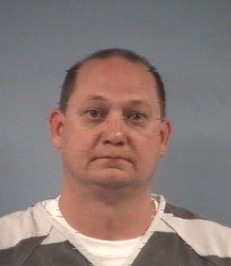 Clifford Wade Abbott, 44, was charged with terroristic threat and obstructing highway or other passageway.  Photo: Friendswood Police Department