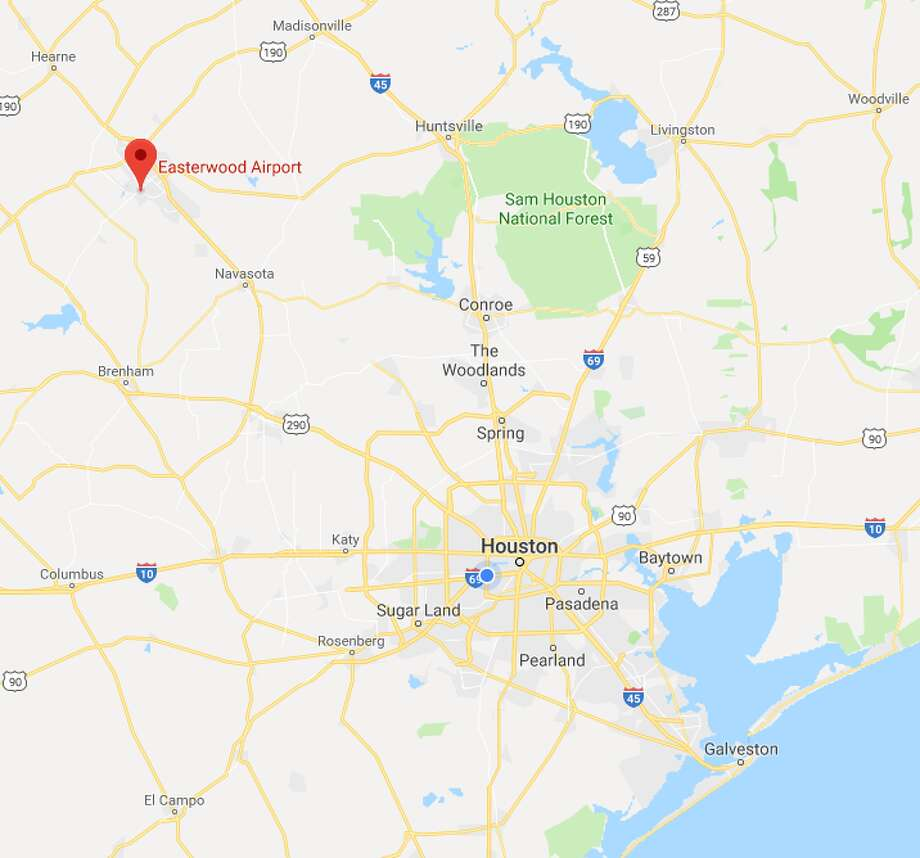 A tornado was spotted on May 8, 2019, near the Easterwood Airport in College Station, according to the National Weather Service.