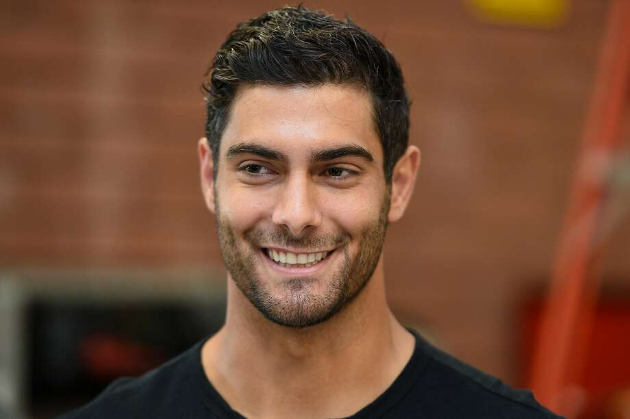 Click through the slideshow to see some of the things Jimmy Garoppolo did during the 2019 offseason. Photo: Cody Glenn, Special To The Chronicle
