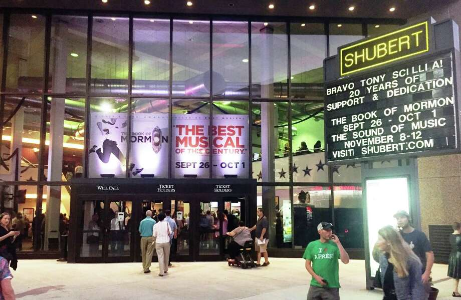The Shubert Theatre in New Haven will be part of the New Haven Night Market May 17. Photo: Joe Amarante / Hearst Connecticut Media