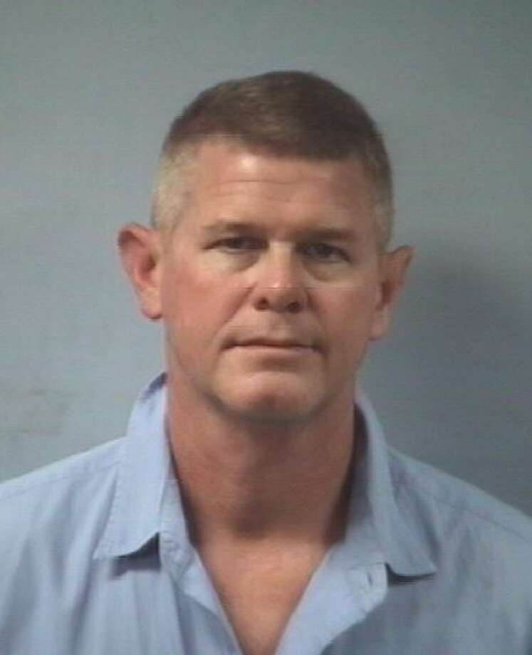 Robert Scott Pearson, 48, was charged with assault causing bodily injury. Photo: Friendswood Police Department
