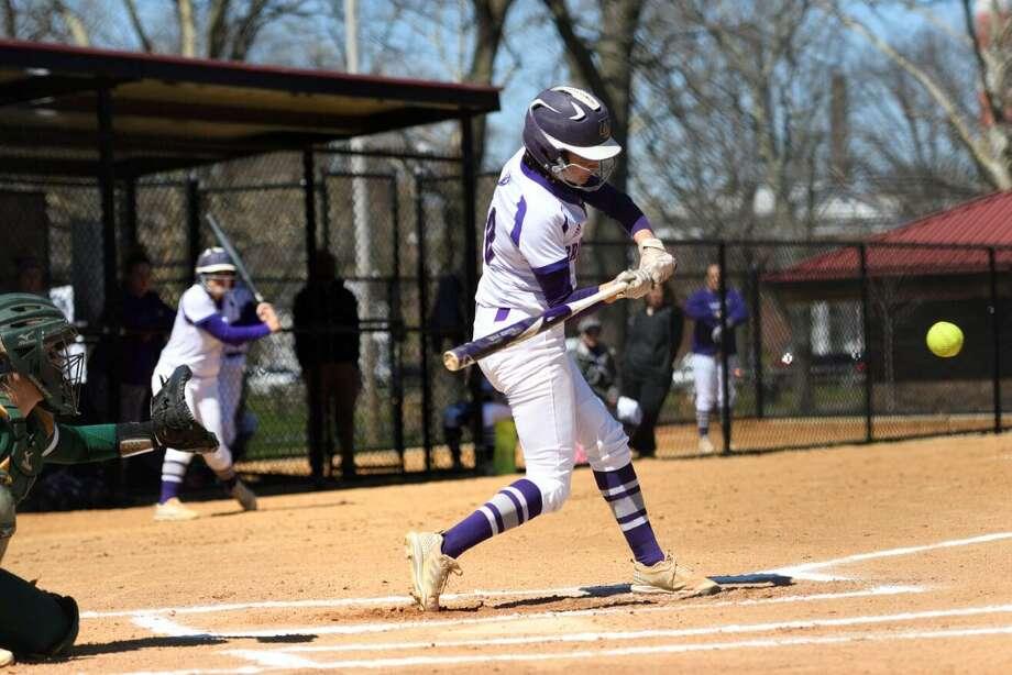 Bridgeport softball player Allison Luzzi. Photo: University Of Bridgeport