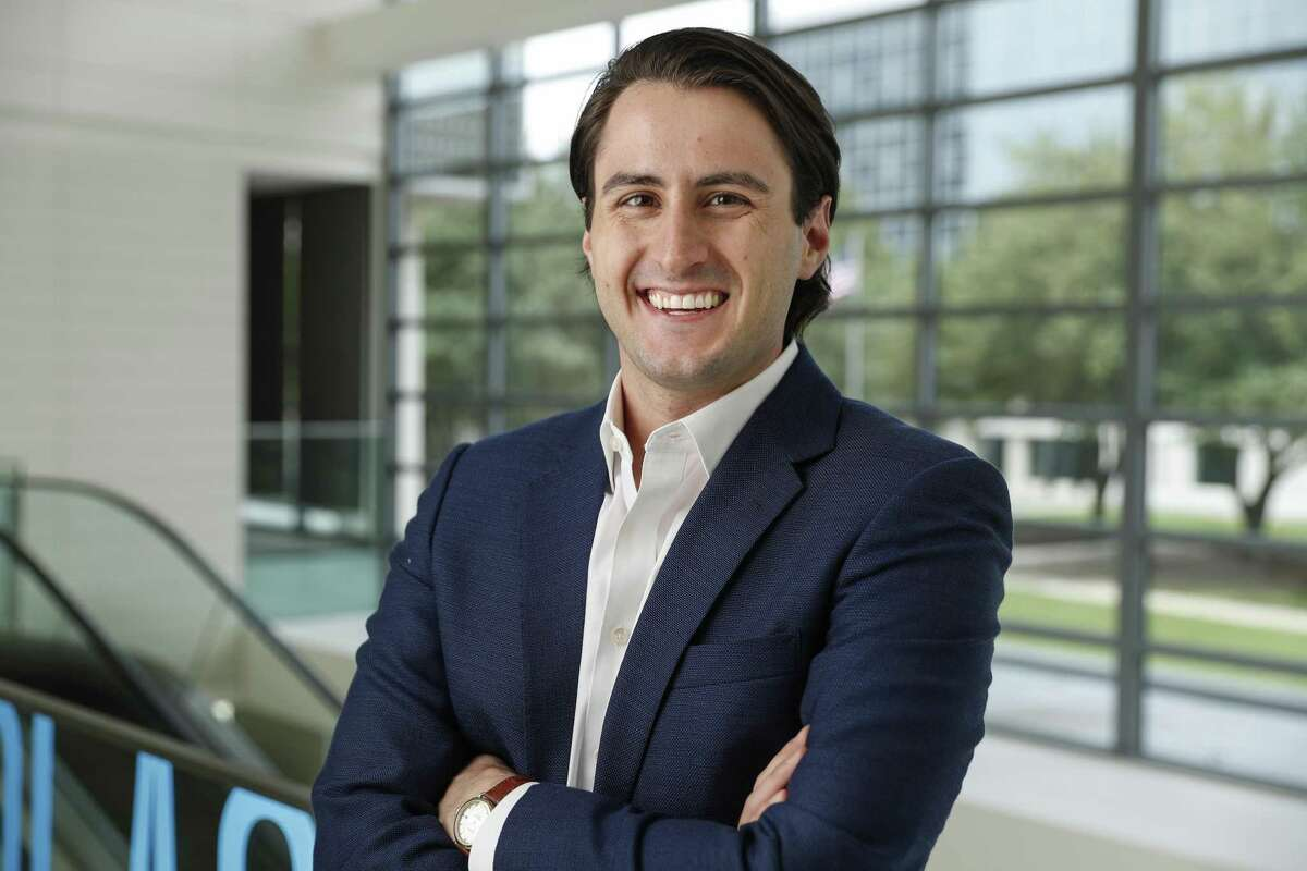 Jackson Upcheshaw, Vice President of Door, is photographed in Houston, TX on Monday, May 6, 2019.