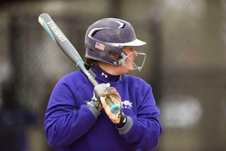Bridgeport softball player Jenna DiLorenzo. Photo: Bridgeport Athletics