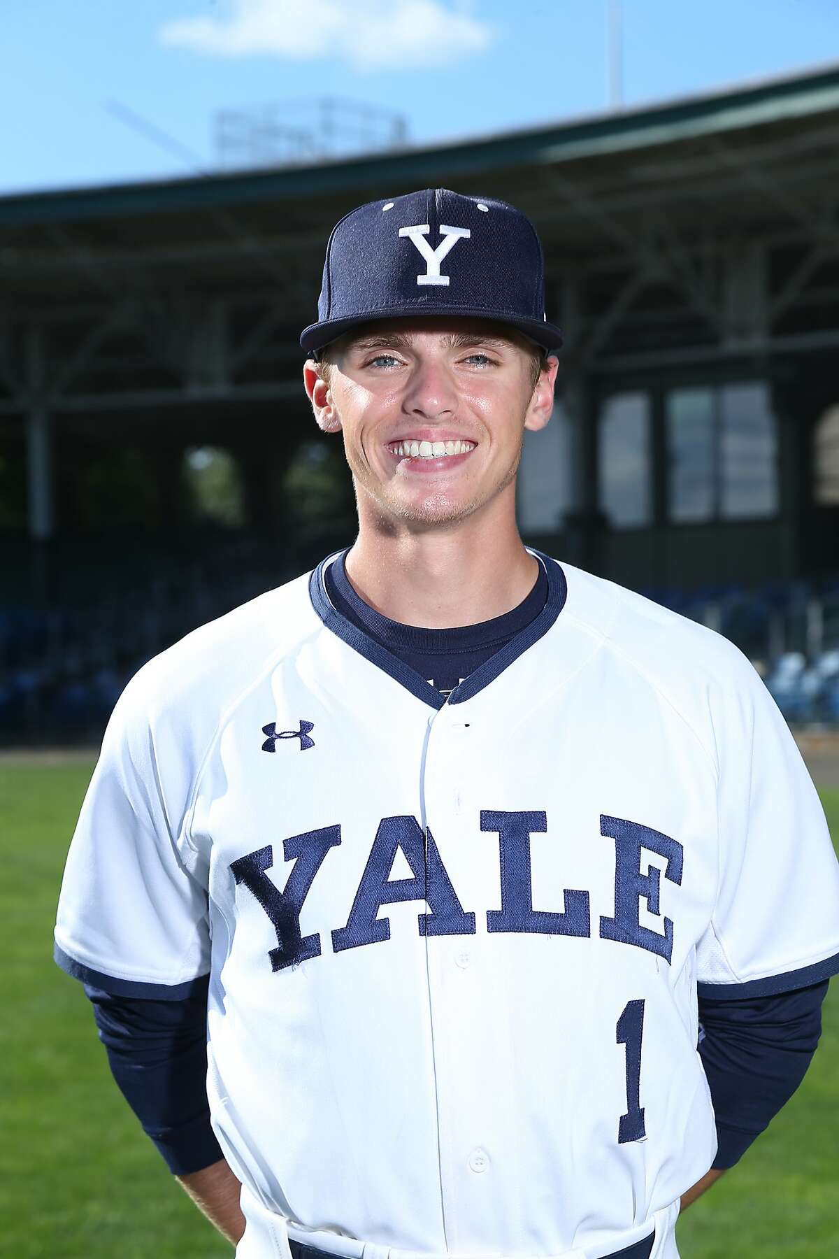 Yale baseball standout shortstop Simon Whiteman was a Rhodes Scholars nominee