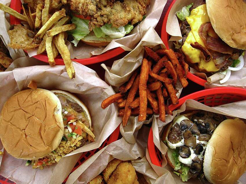 Chili Pie Burger from Armadillo Texas-Style Burgers Price: $5 Description: