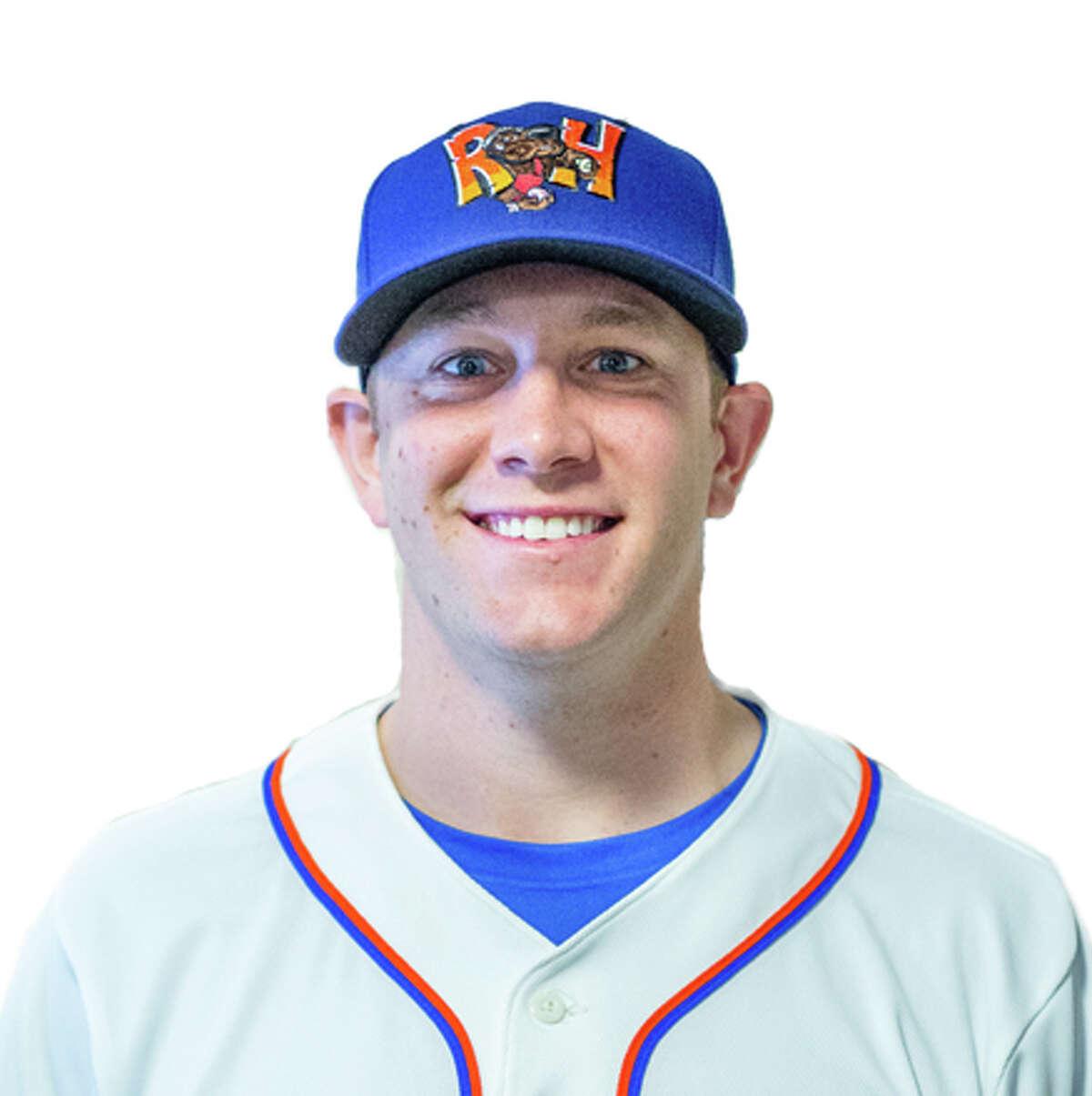 2019 RockHounds pitcher Matt Milburn