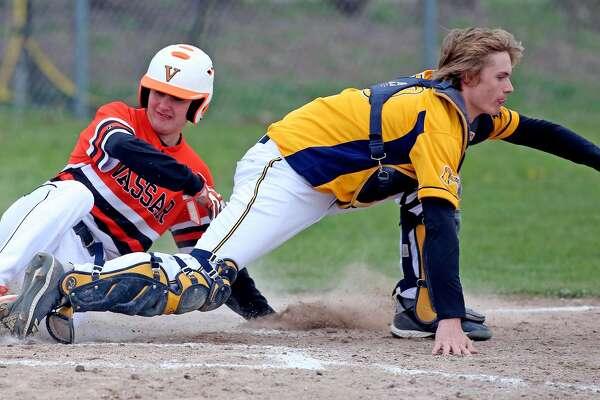 Vassar at Bad Axe - Baseball