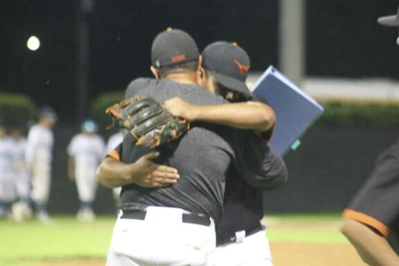 Dobie led the PISD camps in celebration hugs this spring, but they reserved their biggest celebration for their stunning bi-district upset of 21-6A champion La Porte, who some felt had the ingredients to reach the state tournament.