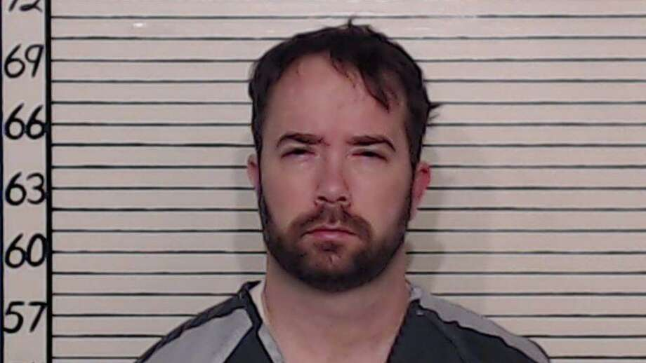 Christopher Boyd Sanders, 40, is seen in a booking photo taken following his arrest on Jan. 17, 2019. Authorities said he escaped Comal County Jail custody for about an hour after he stole a van at about 3 p.m. on Wednesday, May 8, 2019. Photo: Courtesy Comal County Sheriff's Office