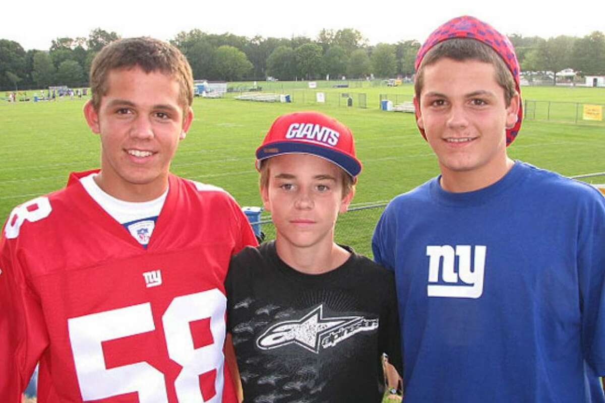 Were you seen at 2009 New York Giants training camp?