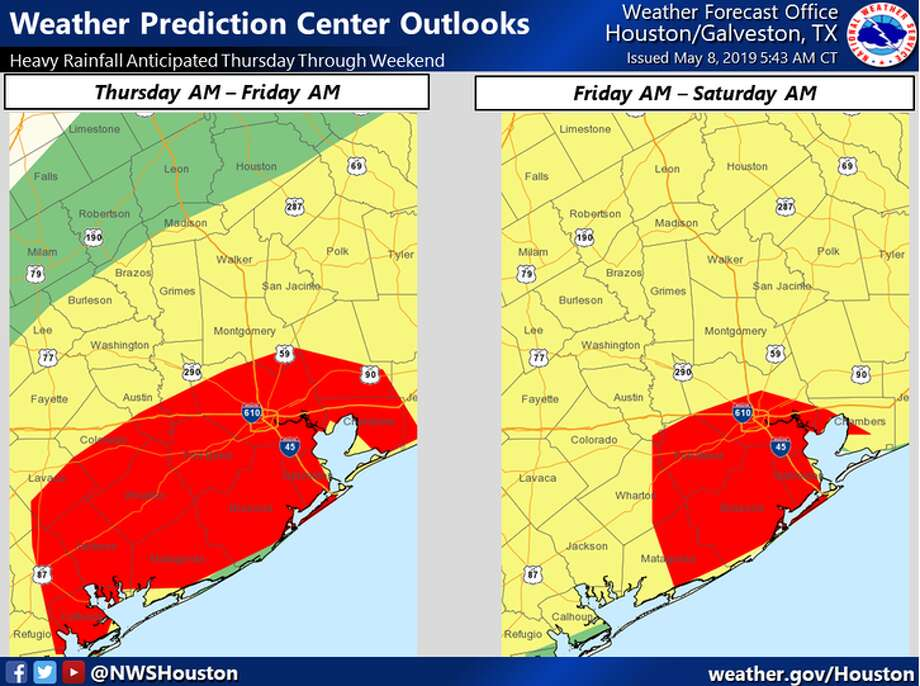 Storms prompt school, event cancellations around Houston