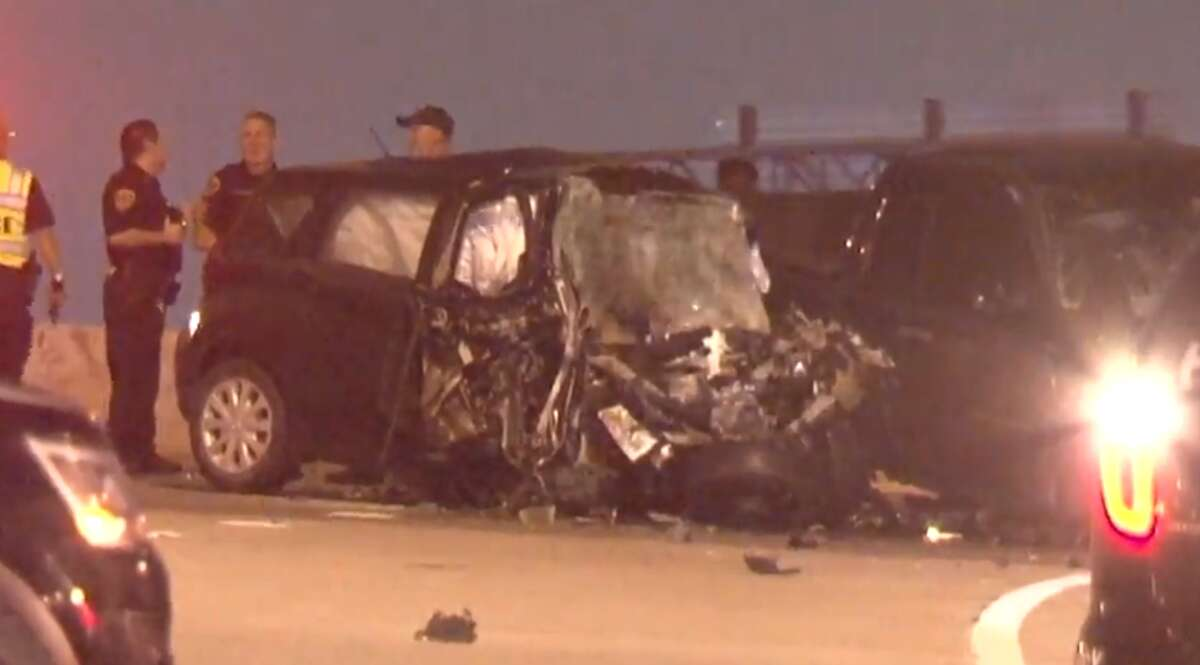 Trevor Bergin, 19, has been charged with intoxication manslaughter in a wrong-way collision at 12000 Highway 90 that left a 40-year-old man dead Thursday May 9, 2019, according to Houston police.