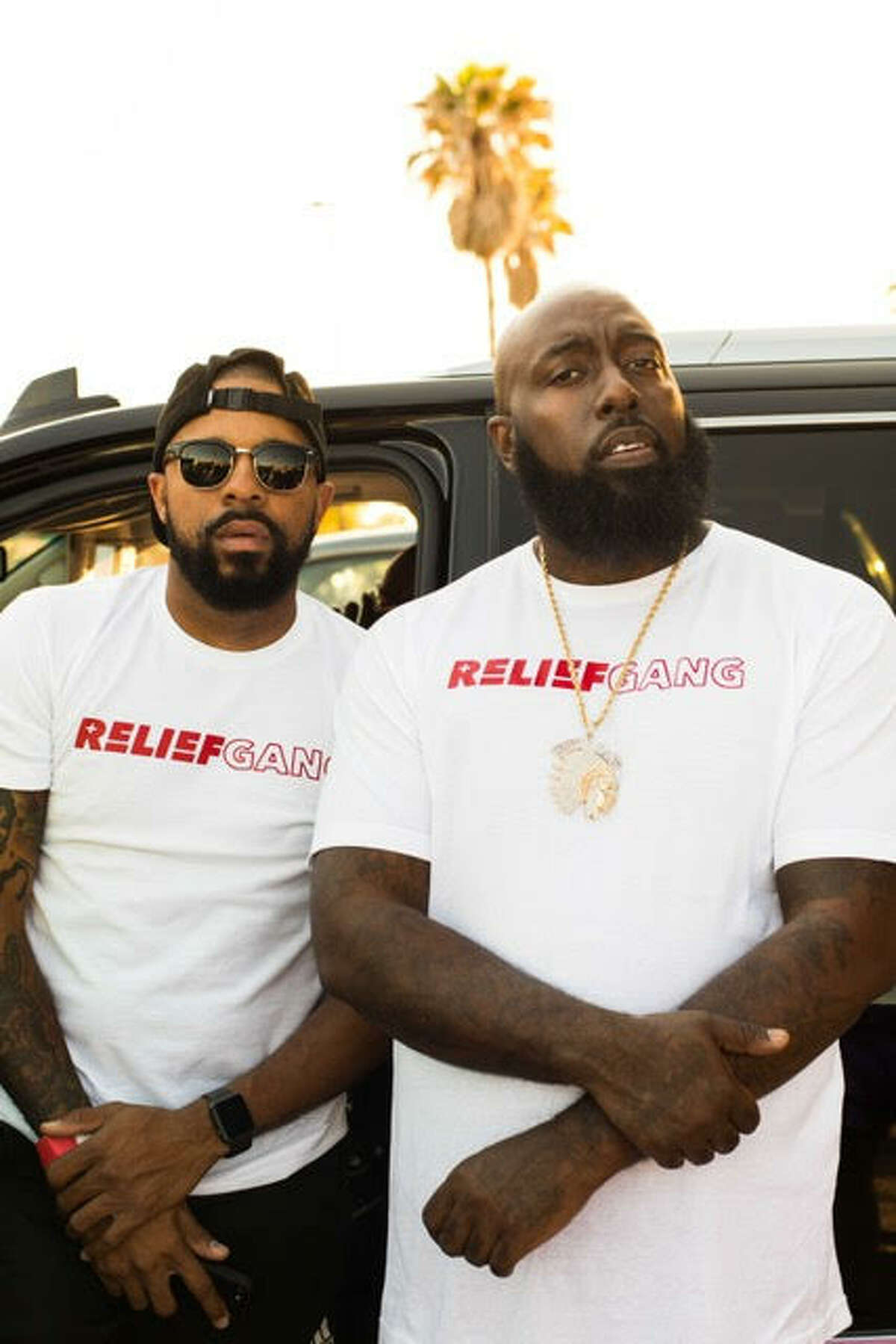 """Trae tha Truth, whose given name is Frazier Thompson III, was out driving through the flooded Houston area roads in his high-water truck, helping residents reach safety with the help of his cohort, Justin """"DJ Rogers"""" Rogers. >>> See more on Trae tha Truth ..."""