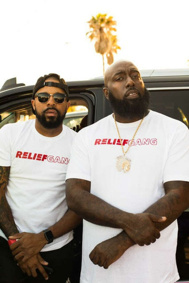 "Trae tha Truth, whose given name is Frazier Thompson III, was out driving through the flooded Houston area roads in his high-water truck, helping residents reach safety with the help of his cohort, Justin ""DJ Rogers"" Rogers.
