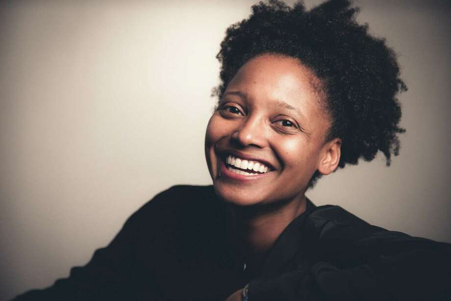 U.S. Poet Laureate Tracy K. Smith reads on Friday, Nov. 3 at California College of the Arts in San Francisco. Photo: Rachel Eliza Griffiths / Online_yes