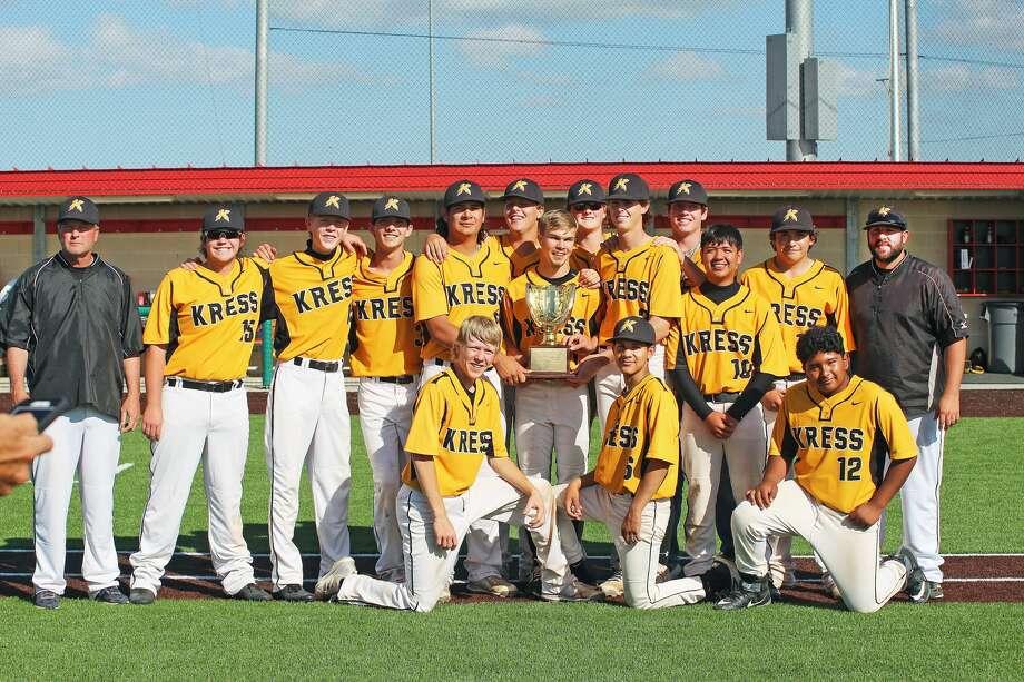 Kress Baseball playoffs Photo: Leah Ziegler/Courtesy Photo