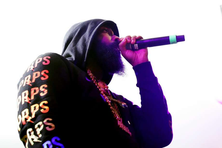 Trae tha Truth performs onstage at DNES Marketing during the 2019 SXSW Conference and Festivals at Stubbs. Photo: Amy E. Price/Getty Images For SXSW