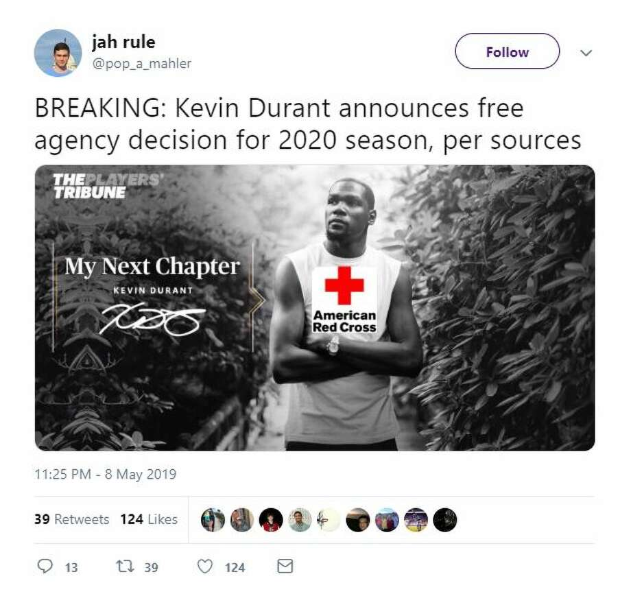 Internet freaks out with memes when Warriors' Kevin Durant ...