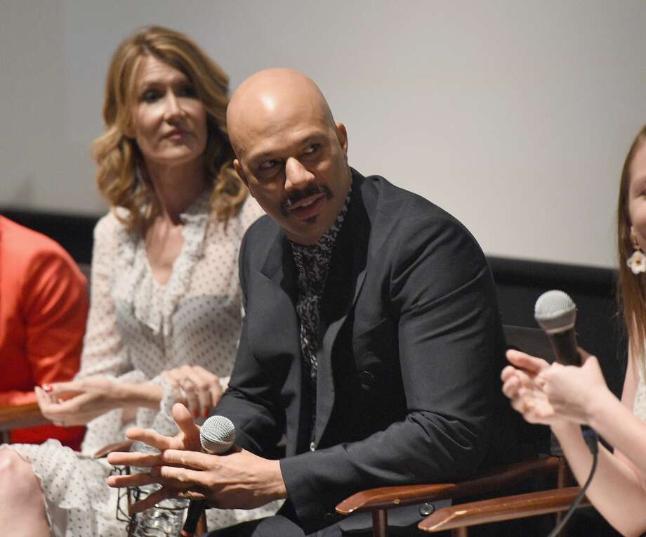 "Laura Dern, left, and Common attend FYC Screening of HBO's Film ""The Tale"" at the Landmark Theater on May 20, 2018 in Los Angeles, Calif. The movie was about a documentary filmmaker whose work on sexual abuse victims drives her to confront her own past. But as Common - born Lonnie Rashid Lynn Jr. - relates in his recently released book, ""Let Love Have the Last Word,"" the conversation that day with Dern jarred something loose inside his head. Photo: FilmMagic/FilmMagic For HBO"