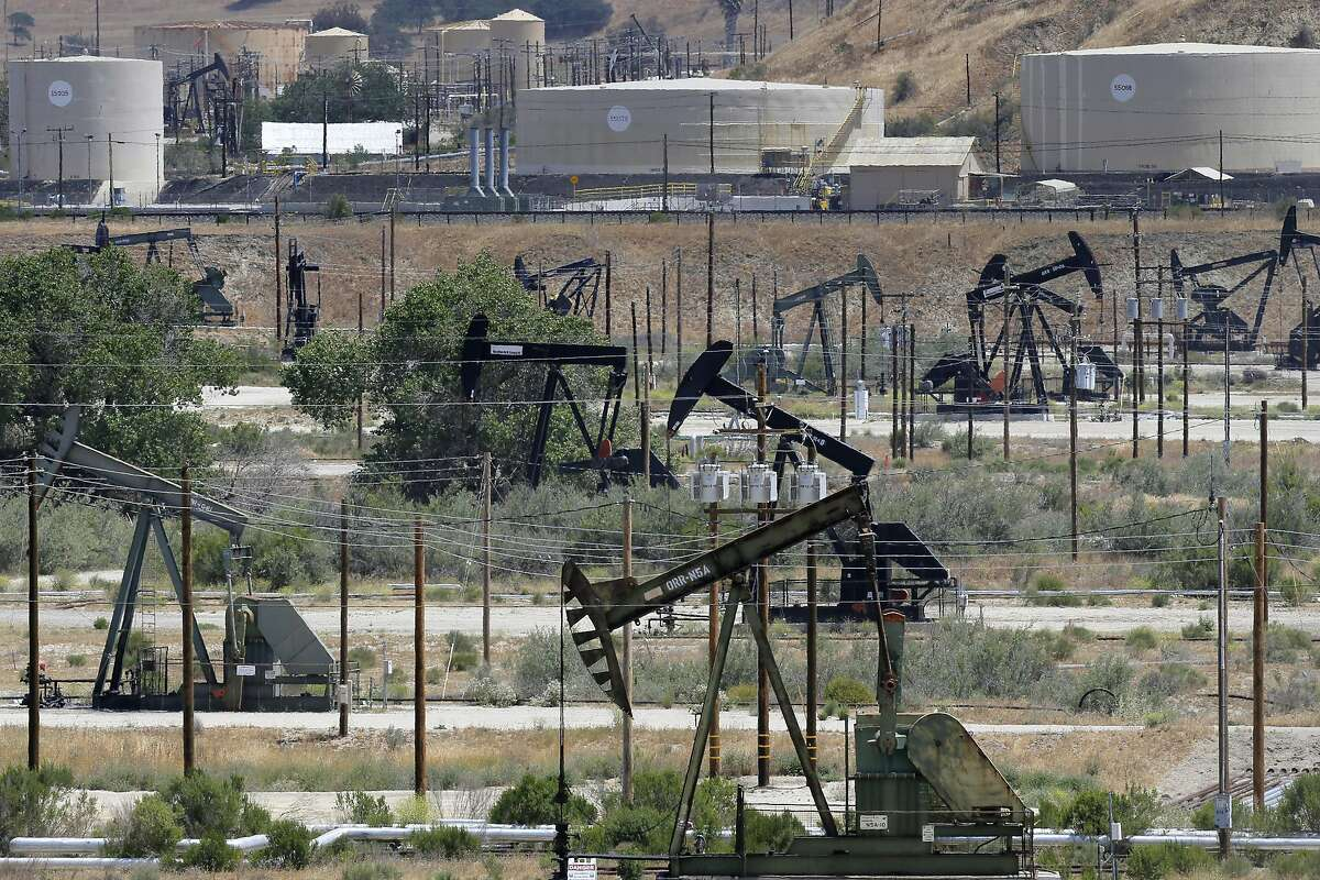 The San Ardo, Ca. oil field in Central California which is located between King City and Paso Robles, as seen on Wed. May 6, 2015.