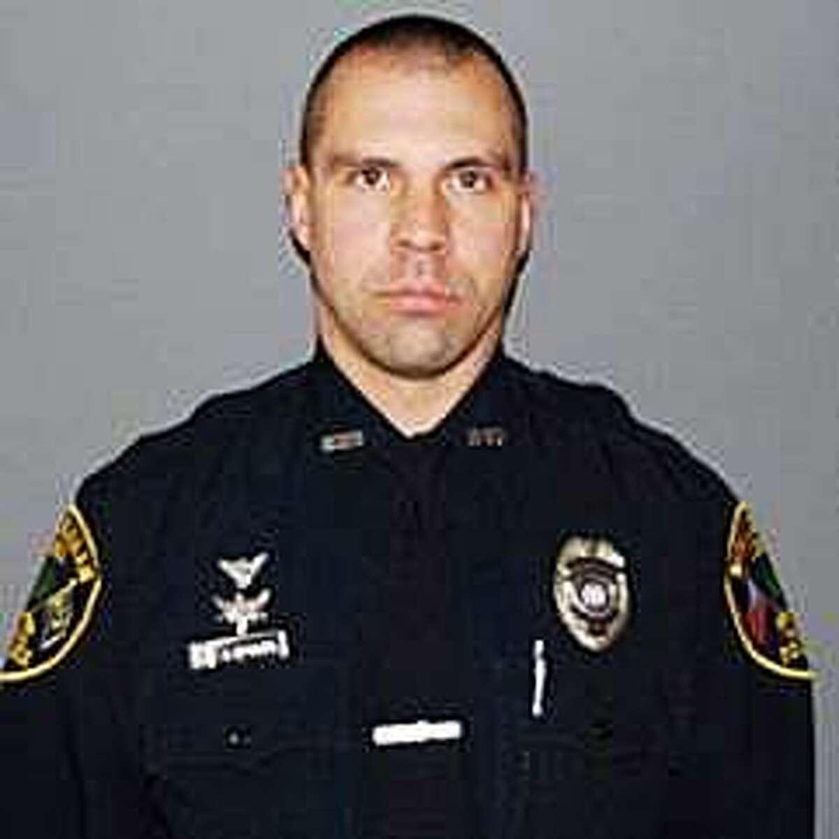 New Canaan police Sgt. Aaron LaTourette