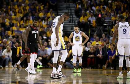 8f2776087fe What Kevin Durant s calf injury means for the Warriors - SFChronicle.com