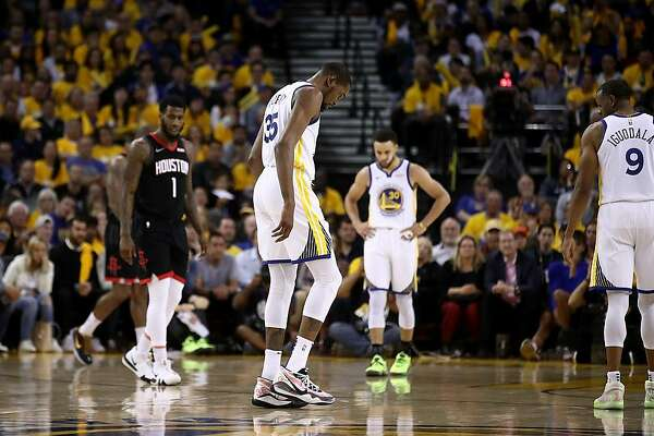 c022aefb6 Warriors  Kevin Durant to miss rest of Western Conference semifinals ...