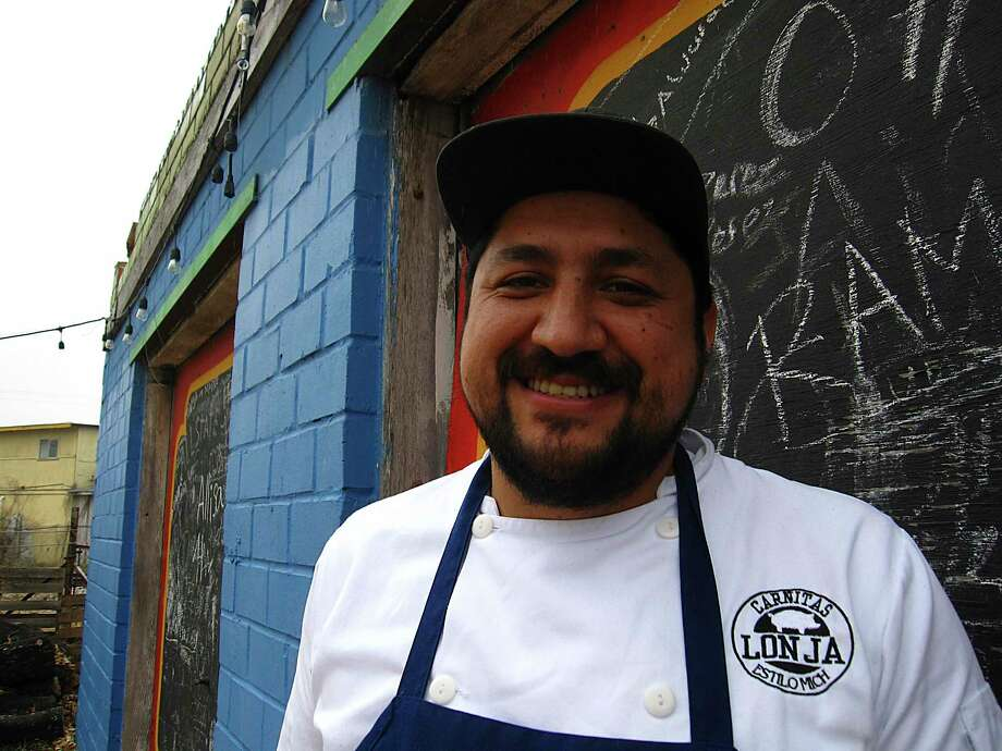 "Carnitas Lonja chef and owner Alex Paredes has been named a 2020 semifinalist as the ""Best Chef: Texas"" by the James Beard Foundation. Photo: Mike Sutter /Staff File Photo"