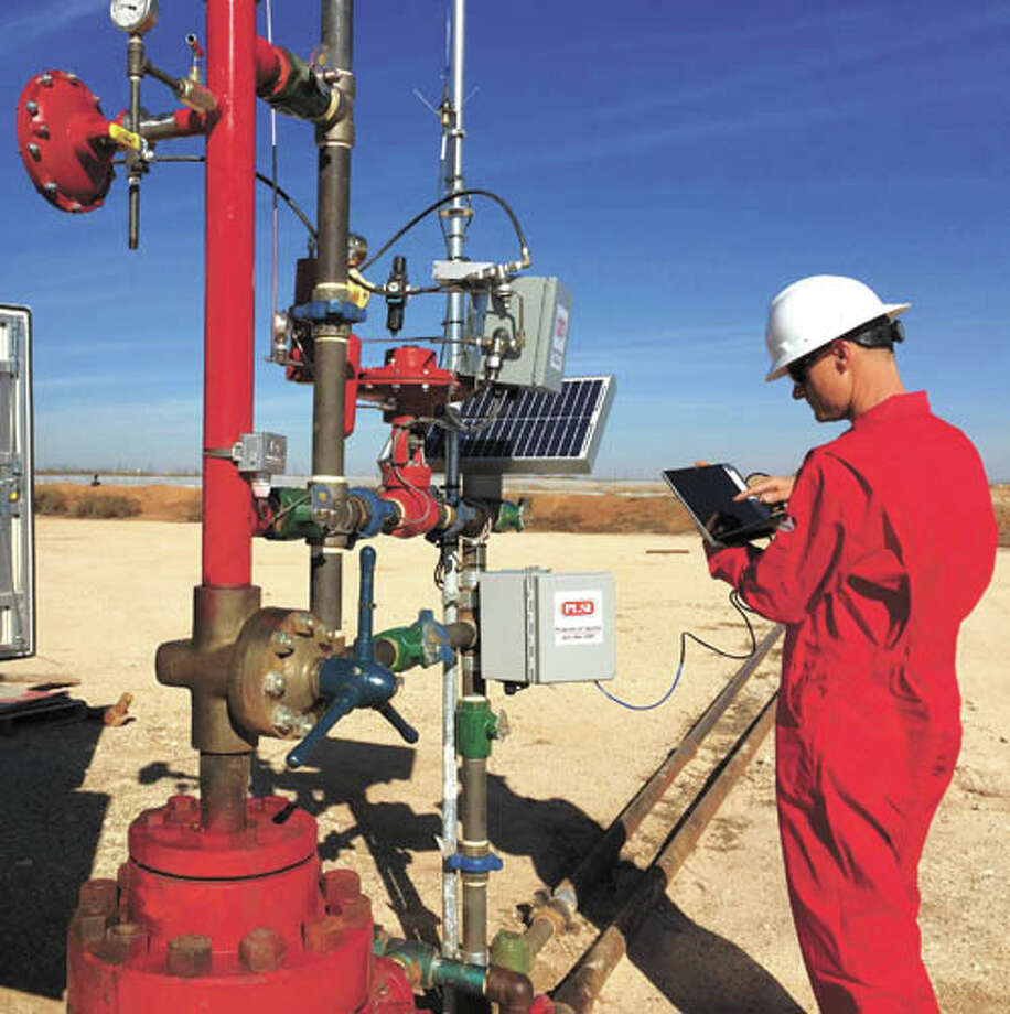 Better production from your gas lift and plunger lift wells? Ask the  experts at Production Lift for consultations, installations and  training. Call them at 800-594-3887 Photo: Courtesy