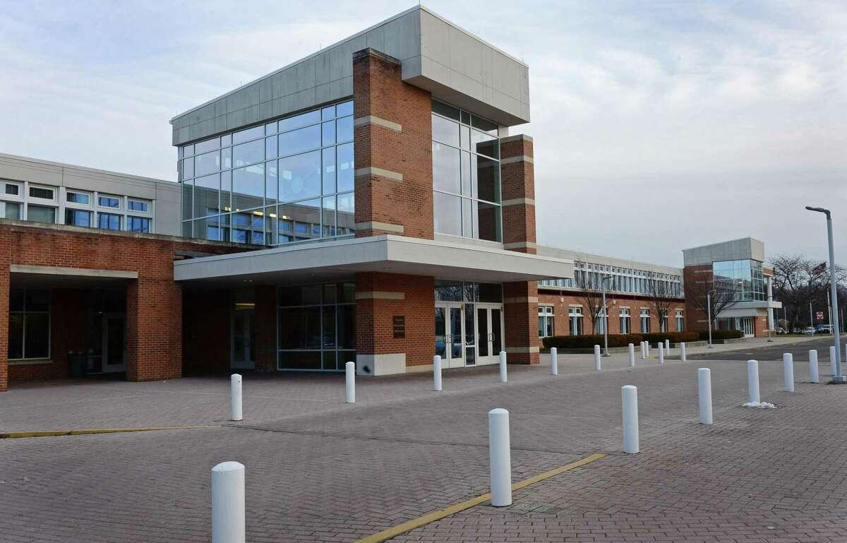 Brien McMahon High School.
