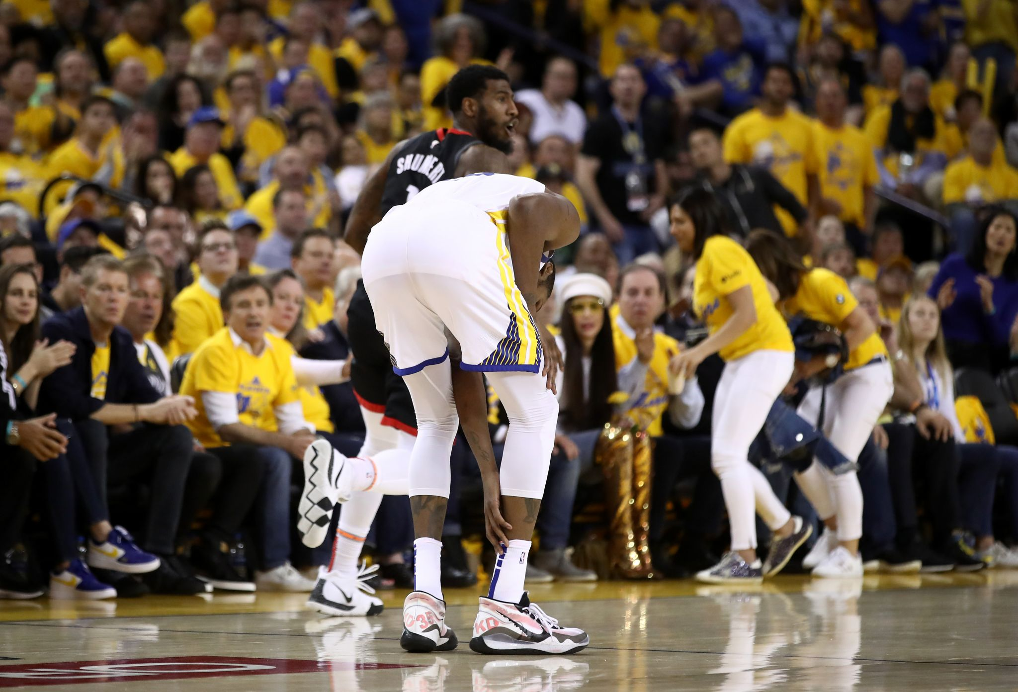 Rockets' Iman Shumpert concerned if he caused injury on play Kevin Durant was hurt