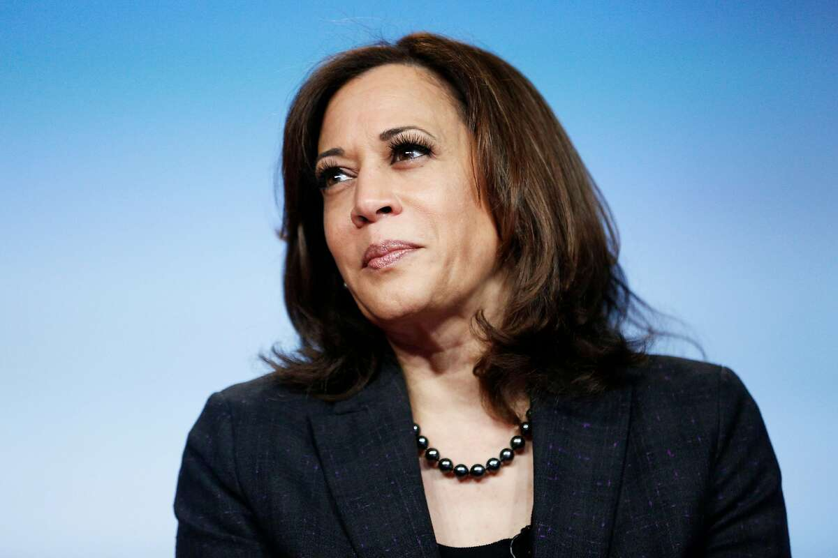 Democratic presidential candidate Sen. Kamala Harris during the Women of Power Summit at the The Mirage on Friday, March 1, 2019, in Las Vegas, Nv.