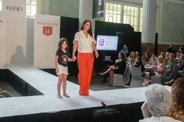 Astros wives model spring fashion for Safe at Home Luncheon