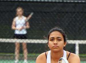 Lily Smith is a senior on the Staples girls tennis team.