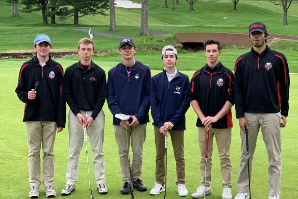 The Fairfield Warde boys golf team.