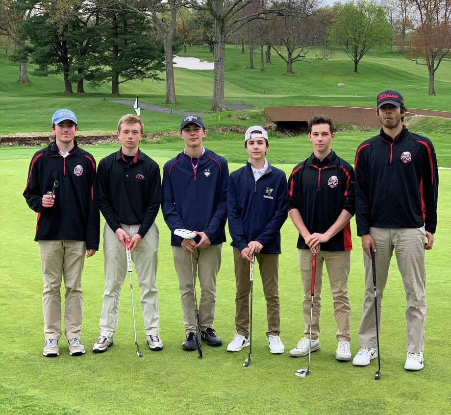 The Fairfield Warde boys golf team. Photo: Contributed Photo / Greenwich Time Contributed