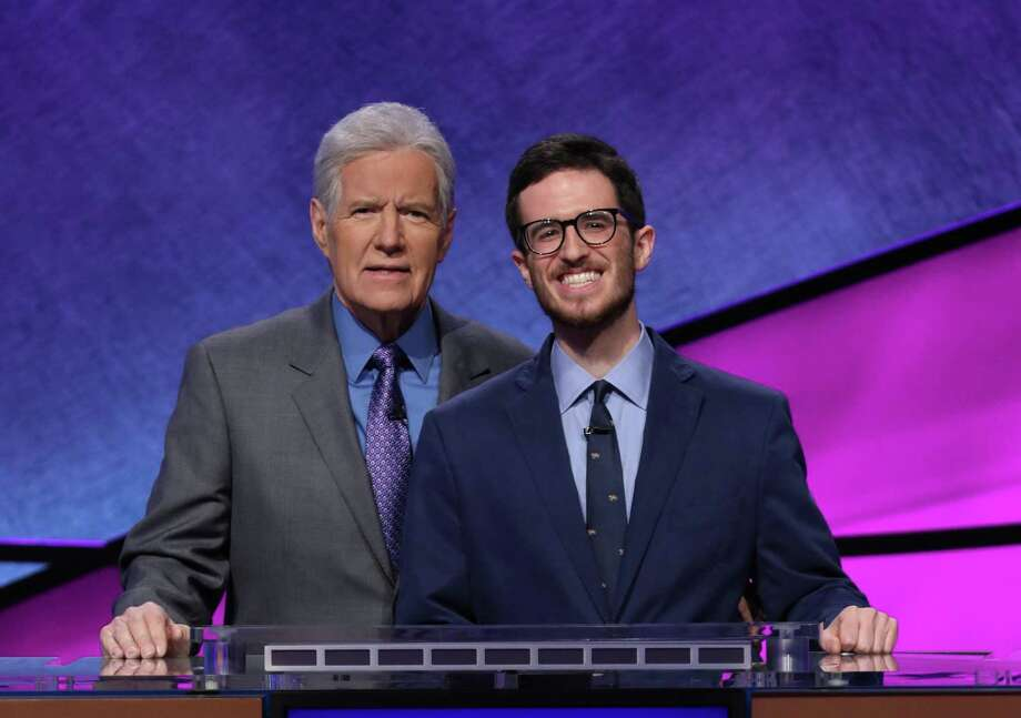 King School English Teacher Ben Schwartz participated in the Jeopardy Teachers Tournament in early April. Photo: Contributed Photo / Westport News contributed