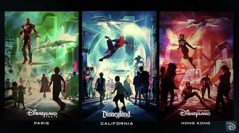 Disney Marvel Land Photo: Disney Parks