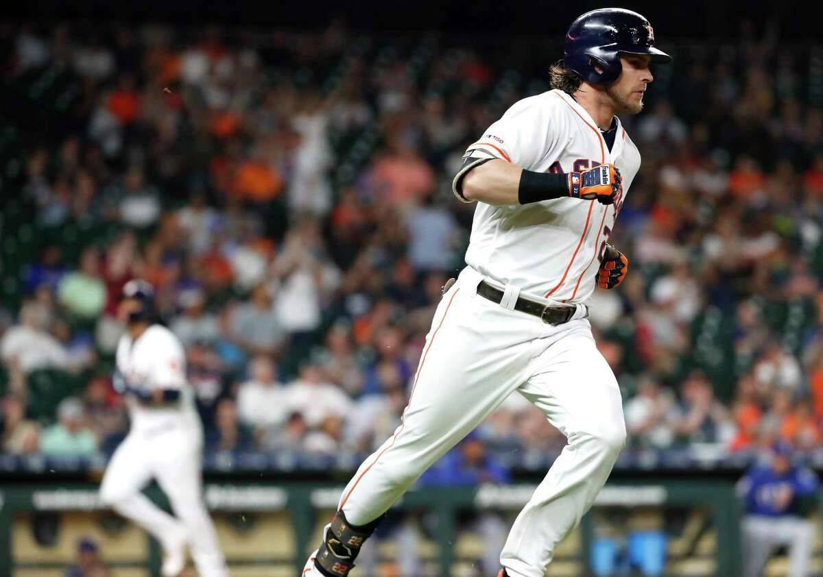 Josh Reddick's rebound at the plate so far this season ranks among the most impressive things about the 2019 Astros.