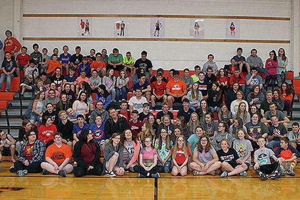 The students of Franklin Junior-Senior High School.